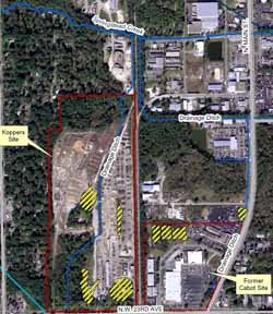 Cabot-Koppers Superfund site