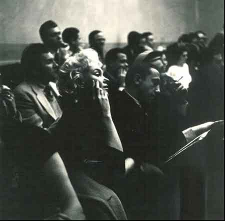 Marilyn Monroe at the Actors Studio